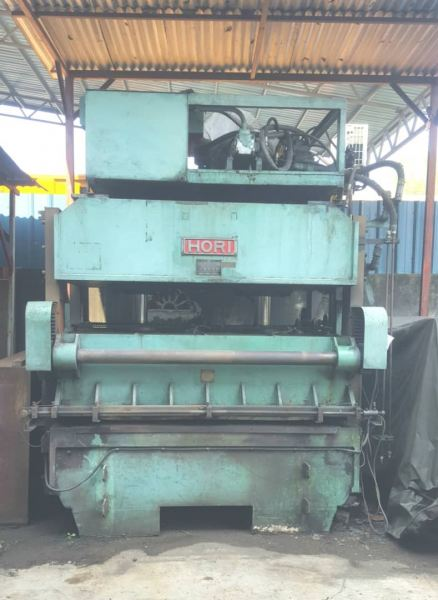 200 Ton Hydraulic Die-cutting Machine. (HORI JAPAN) USED MACHINERY FOR SALE Selangor, Malaysia, Kuala Lumpur (KL), Puchong Supplier, Distributor, Supply, Supplies | Newton Hydraulics Sdn Bhd