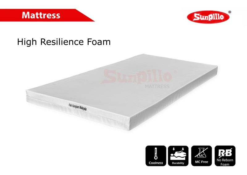 HIGH RESILIENCE FOAM MATTRESS Mattress Penang, Malaysia, Butterworth Manufacturer, Supplier, Supply, Supplies | Hoyta Sdn Bhd