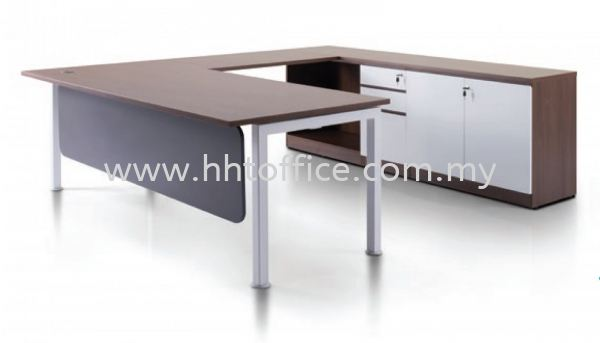 Office Desk-President Rumex Series CEO Desk Office Table Selangor, Malaysia, Kuala Lumpur (KL), Puchong Supplier, Suppliers, Supply, Supplies   HHT Office Furniture