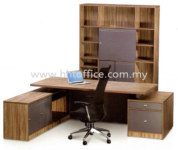 Office Desk-President Vanamo Series CEO Desk Office Table Selangor, Malaysia, Kuala Lumpur (KL), Puchong Supplier, Suppliers, Supply, Supplies | HHT Office Furniture