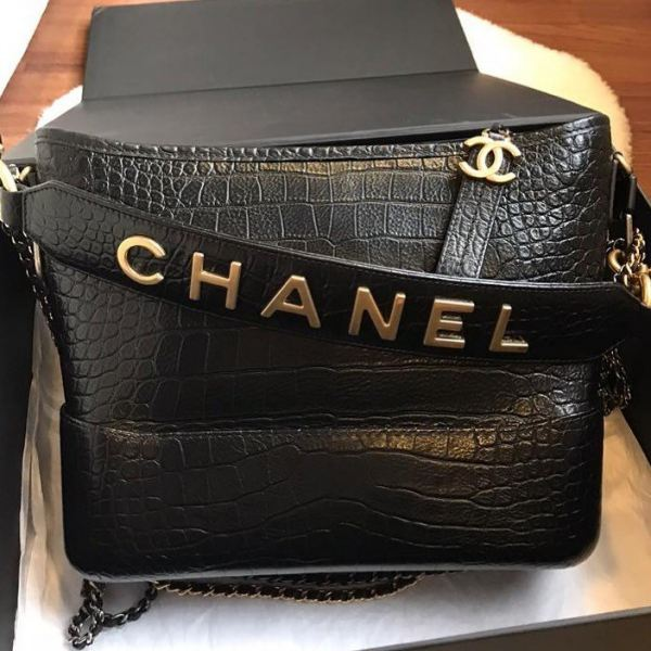 (SOLD) Brand New Chanel Medium Gabrielle Hobo Embossed Croc GHW Chanel Kuala Lumpur, KL, Selangor, Malaysia. Supplier, Retailer, Supplies, Supply | The Luxury Brand