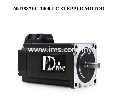 60J1887EC-1000-LS EDRIVE Closed Loop Stepper Motor  Stepper Motor Stepper Motor Johor, Johor Bahru, JB, Malaysia Supplier, Suppliers, Supply, Supplies | iMS Motion Solution (Johor) Sdn Bhd
