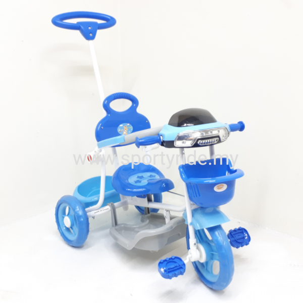 Tricycle with handle 3301 Tricycle Kid Tricycle Selangor, Malaysia, Kuala Lumpur (KL), Seri Kembangan, Puchong Bicycle, Supplier, Supply, Supplies | Sporty Ride Trading