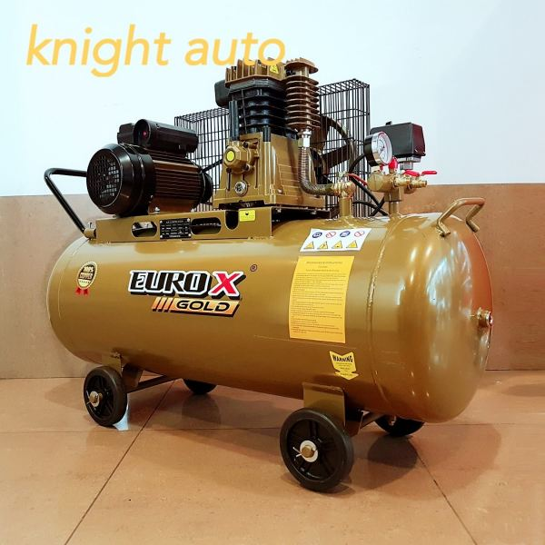 EuroX Gold EAW9120 3HP 120L Heavy Duty Air Compressor - ITALY Piston Head  ID31481    Europower & Eurox & Robintec  Air Compressor Seri Kembangan, Selangor, Kuala Lumpur (KL), Kajang, Malaysia Supply Supplier Suppliers | Knight Auto Sdn Bhd