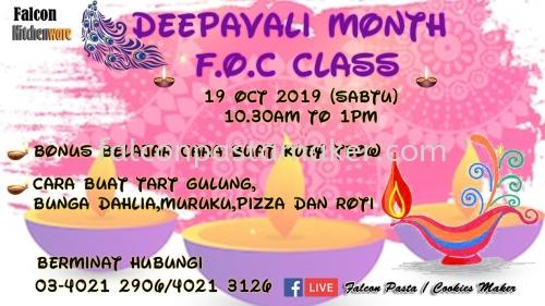 Deepavali F.O.C Class
