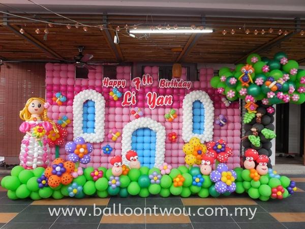 Birthday Party Balloon Decoration Birthday Party Balloon Decoration Selangor, Malaysia, Kuala Lumpur (KL), Ampang Service, Supplier, Supply, Supplies | Balloon Two U