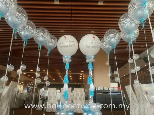 Balloon Booth Wedding Balloon Decoration Selangor, Malaysia, Kuala Lumpur (KL), Ampang Service, Supplier, Supply, Supplies | Balloon Two U