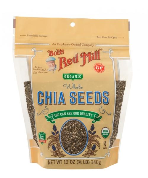 Organic Chia Seed Gluten Free Nuts, Seeds, Grains and Beans Bobs Red Mill Malaysia, Selangor, Kuala Lumpur (KL) Distributor, Wholesaler, Supplier, Supply | Ballun Distribution (M) Sdn Bhd