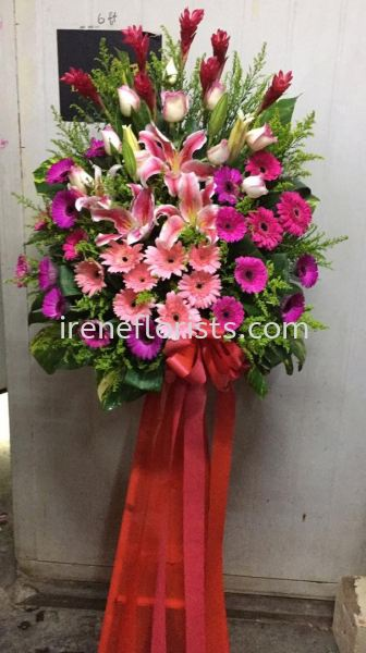 OFA024 Opening Flower Arrangement Taiping, Perak, Malaysia. Suppliers, Supplies, Supplier, Supply | Irene's Florists De Beaute