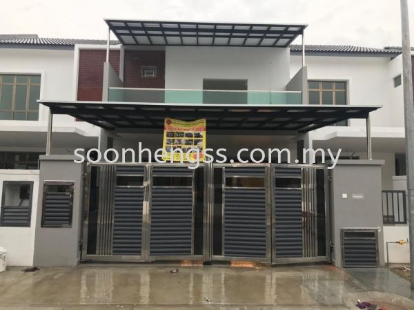 ALUMINIUM COMPOSITE PANEL AWNING METAL WORKS Johor Bahru (JB), Skudai, Malaysia Contractor, Manufacturer, Supplier, Supply   Soon Heng Stainless Steel & Renovation Works Sdn Bhd