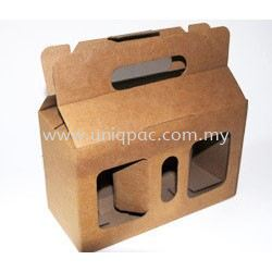 Die Cut Box With Handle Die Cut Box Corrugated Box Selangor, Malaysia, Kuala Lumpur (KL), Shah Alam Supplier, Suppliers, Supply, Supplies | UNIQPAC PACKAGING ENTERPRISE