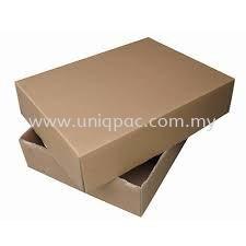 Top & Bottom Brown Box Top & Bottom Box Corrugated Box Selangor, Malaysia, Kuala Lumpur (KL), Shah Alam Supplier, Suppliers, Supply, Supplies   UNIQPAC PACKAGING ENTERPRISE