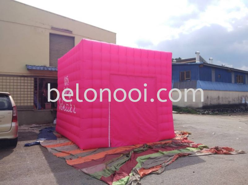 SHOKUBUTSU INFLATABLE TENT - CUBE SHAPE - 10FT X 10FT  Inflatable Tent / Kiosk / Canopy Selangor, Malaysia, Kuala Lumpur (KL), Balakong Supplier, Suppliers, Supply, Supplies | Belon Ooi (M) Sdn Bhd