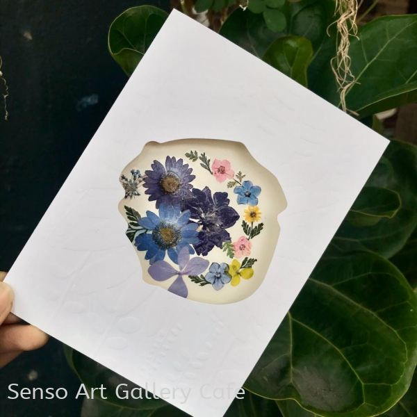 Pressed Flower Workshop Johor Bahru (JB), Malaysia Workshop | Senso Art Gallery Cafe