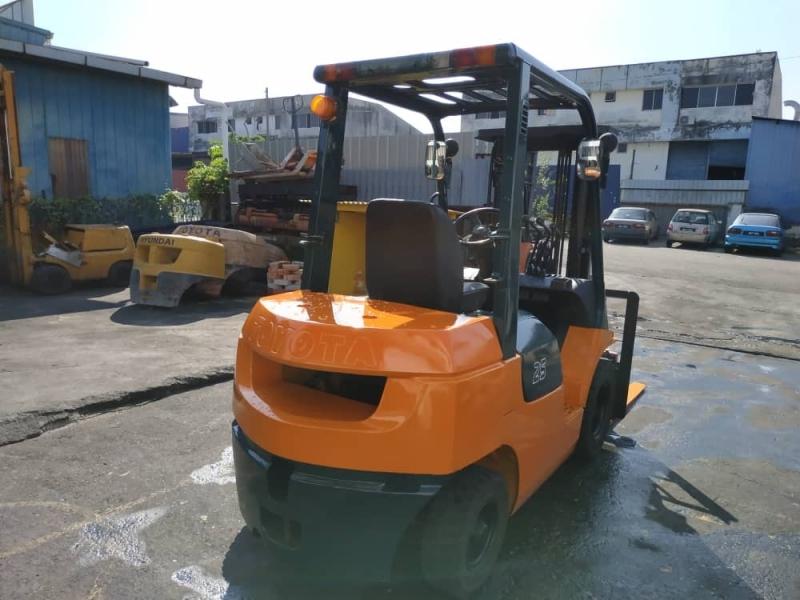 7FG25 Toyota Seremban, Negeri Sembilan (NS), Malaysia, Senawang Forklift Supplier, Supply, Supplies, Rental | Uniforce Materials Handling (M) Sdn Bhd