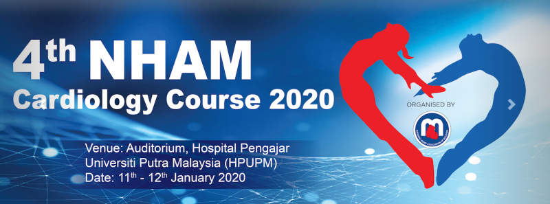 4th NHAM Cardiology Course January 2020 Year 2020 Past Listing Malaysia Future, Upcoming, Fair, Exhibition | NEWEVENT MALAYSIA
