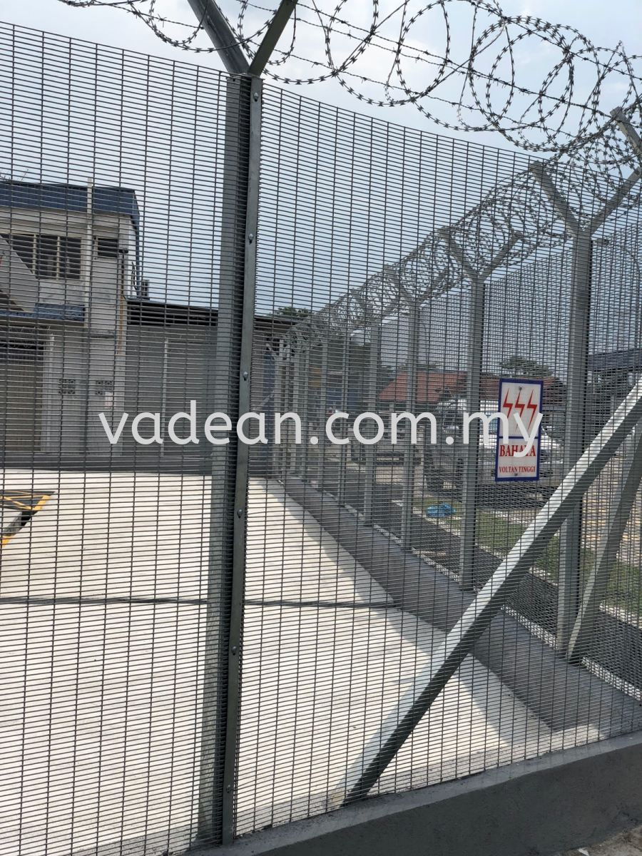 Anti Climb Fence Anti-Climb Security Fence Fence Johor Bahru (JB), Johor Supplier, Suppliers, Supply, Supplies | Vadean Trading Sdn Bhd