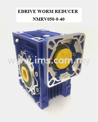 EDRIVE Right Angle Worm Gear Head NMRV050-040 Right Angle Gear Head Gear Head Johor, Johor Bahru, JB, Malaysia Supplier, Suppliers, Supply, Supplies | iMS Motion Solution (Johor) Sdn Bhd