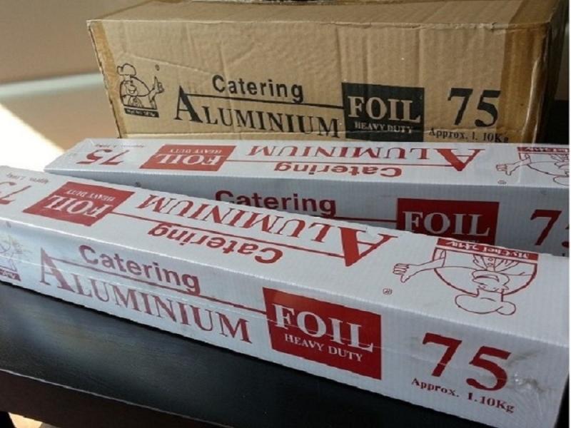 ALUMINIUM FOIL 1.1KG X 450MM X 6ROLLS ALUMINIUM FOIL ALUMINIUM FOIL AND FOOD WRAPPING Kuala Lumpur (KL), Malaysia, Selangor, Kepong Supplier, Suppliers, Supply, Supplies | RS Peck Trading