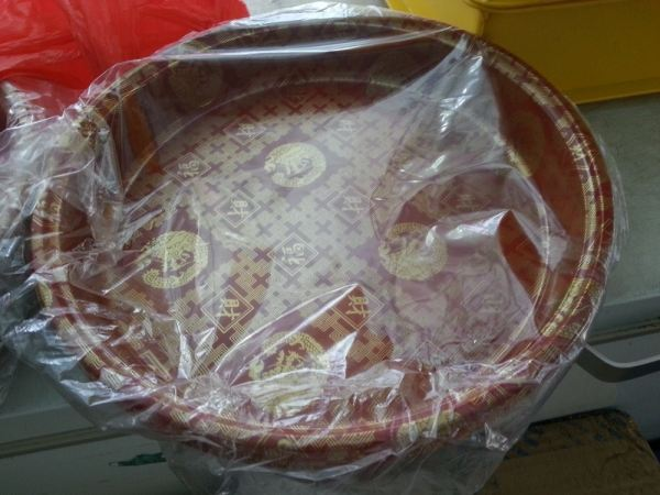 OK-4 YU SANG TRAY with LIDS 100 pcs COMPARTMENT / YU SANG CONTAINER MICROWAVEABLE PLASTIC CONTAINNER Kuala Lumpur (KL), Malaysia, Selangor, Kepong Supplier, Suppliers, Supply, Supplies | RS Peck Trading