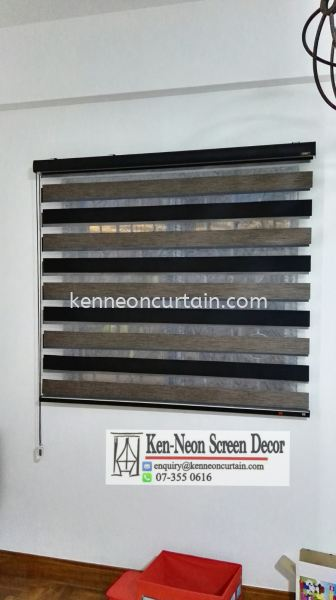 ZB 07 shadow blinds supply and installation service Zebra Blinds Johor Bahru (JB), Malaysia, Taman Molek Supplier, Installation, Supply, Supplies | Ken-Neon Screen Decor