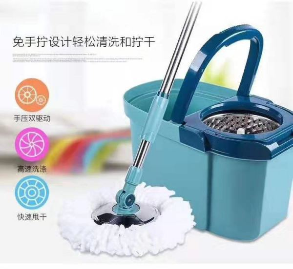Spin Mop Cleamy K-3 Barrel Shaped with 2 spin mop refill 16cm Household Products  Make-Up Accessories Cecil, City Girl, Malaysia Johor Bahru JB | Perniagaan Lily Sdn Bhd