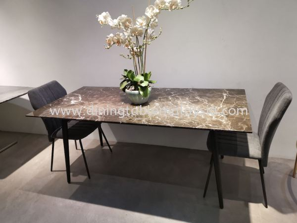 Marble Dining Table For 6 Seater  Marble Dining Table Malaysia, Selangor Supplier, Wholesaler   DeCasa Marble Sdn Bhd