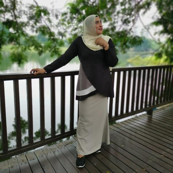 Black 3928 Blouse Blouse Malaysia, Selangor, Kuala Lumpur (KL), Ampang Pembekal, Membekal | P & P Fashion