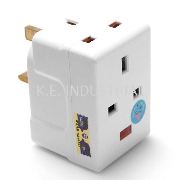 JSE 13A Adaptor With Neon(8633N) Electric Selangor, Klang, Malaysia, Kuala Lumpur (KL) Supplier, Suppliers, Supply, Supplies | K.E. Industrial Supply Sdn Bhd