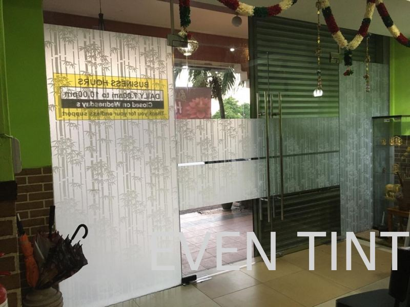 simple and nice frosted  design Frosted Film Selangor, Malaysia, Kuala Lumpur (KL), Semenyih Supplier, Suppliers, Supply, Supplies | Even Tint