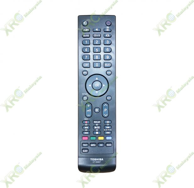 CT-8067 TOSHIBA LCD/LED TV REMOTE CONTROL TOSHIBA LCD/LED TV REMOTE CONTROL Johor Bahru JB Malaysia Manufacturer & Supplier | XET Sales & Services Sdn Bhd
