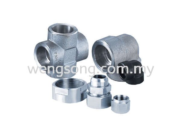Stainless Steel ss304 Forge Fittings Stainless steel 304 Fittings Fittings Water Supply Division Kuala Lumpur (KL), Malaysia, Selangor Supplier, Suppliers, Supply, Supplies   WENGSONG CORPORATION SDN BHD