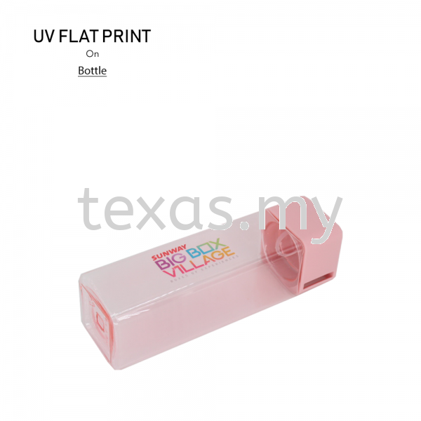 Plastic Bottle  UV Flat Print Kuala Lumpur (KL), Malaysia, Selangor, Sri Petaling Service | Texas Print