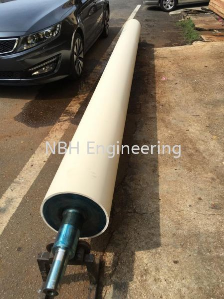 White EPDM Roller ROLLER Selangor, Malaysia, Kuala Lumpur (KL), Puchong Supplier, Suppliers, Supply, Supplies | NBH Engineering & Industrial Sdn Bhd
