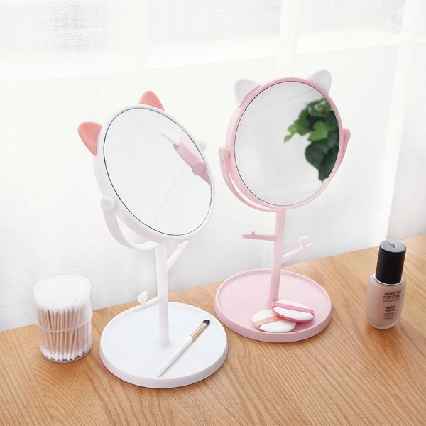 Stand Mirror Cosmetic Mirrors  Make-Up Accessories Cecil, City Girl, Malaysia Johor Bahru JB | Perniagaan Lily Sdn Bhd