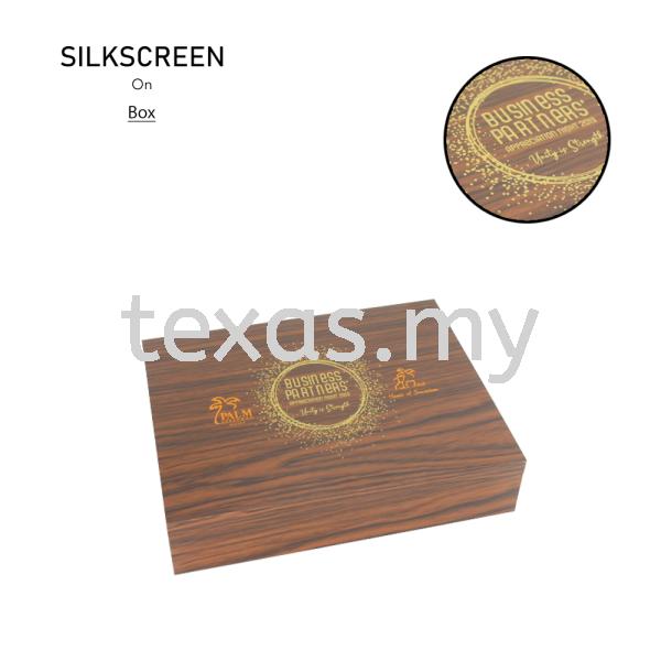 Wood Gift Box Silkscreen Kuala Lumpur (KL), Malaysia, Selangor, Sri Petaling Service | Texas Print