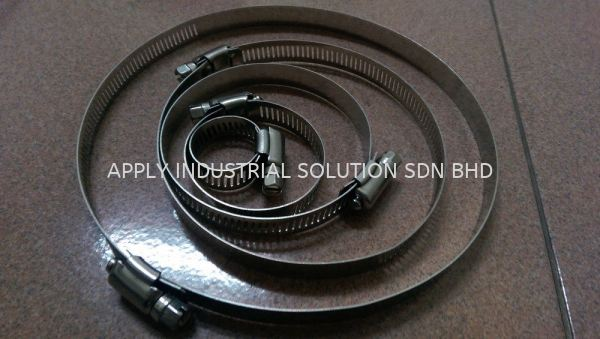 SS Hose Clips Bolts & Nuts, Pin, Circlip Hardware / Others Penang, Malaysia, Butterworth Supplier, Wholesaler, Supply, Supplies | Apply Industrial Solution Sdn Bhd