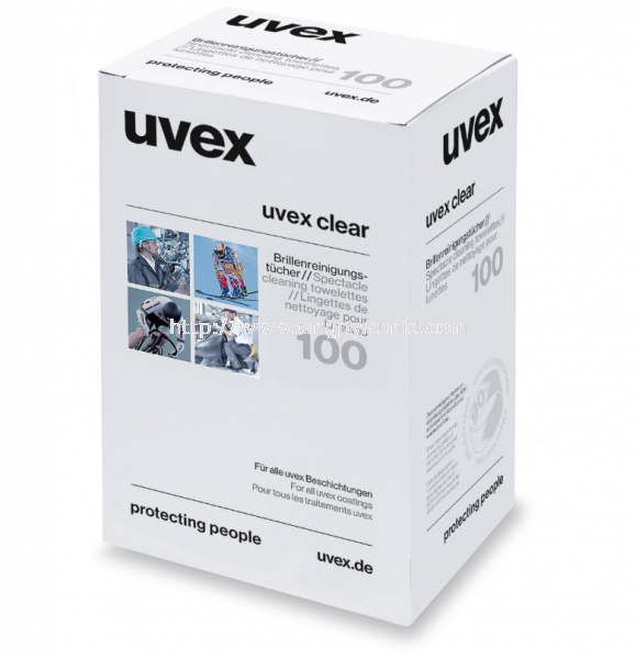 UVEX LENS CLENING TOWELETTES Uvex (Germany) Accessories Johor Bahru (JB), Malaysia, Masai Supplier, Wholesaler, Supply, Supplies | TMG Pyramid Sdn Bhd