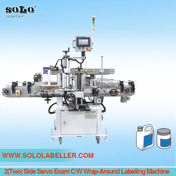 2(Two) Side Servo Ecam C/W Wrap-Around Labelling Machine Standard Labelling Selangor, Malaysia, Kuala Lumpur (KL), Puchong Machine, Manufacturer, Supplier, Supply | Solo Labelling Sdn Bhd