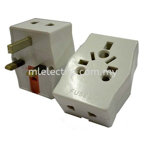 MULTIPLE 3WAY ADAPTOR (MG7196) Multi Adaptor Plug Adaptor & sockets Selangor, Malaysia, Kuala Lumpur (KL), Batu Caves Supplier, Suppliers, Supply, Supplies | ML Electric Sdn Bhd