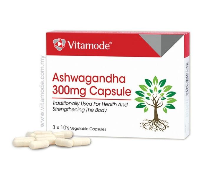 Vitamode Ashwagandha 300mg Capsule Mental Health Vitamode Malaysia, Penang, Selangor, Kuala Lumpur (KL) Supplier, Wholesaler, Distributor   Medispec (M) Sdn Bhd