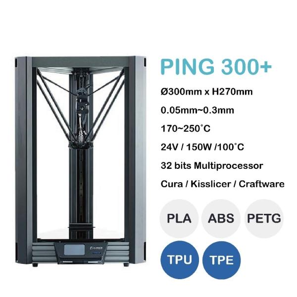 PING 300+ PING 3D (FDM) Machines Johor Bahru (JB), Malaysia, Senai Supplier, Suppliers, Supply, Supplies | Positive Yield Sdn Bhd