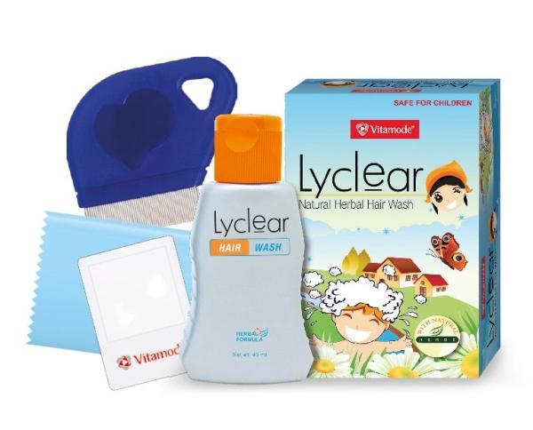 Vitamode Lyclear Hair Wash (Kills Lice & Control Nits) Vitamode   Supplier, Wholesaler, Distributor | Medispec (M) Sdn Bhd