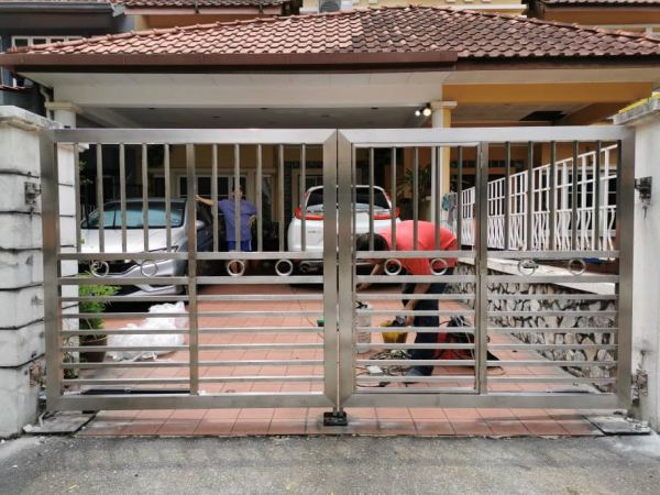 Auto Gate Door Selangor, Malaysia, Kuala Lumpur (KL), Seri Kembangan Supplier, Installation, Supply, Supplies | Steelmax Metal Works