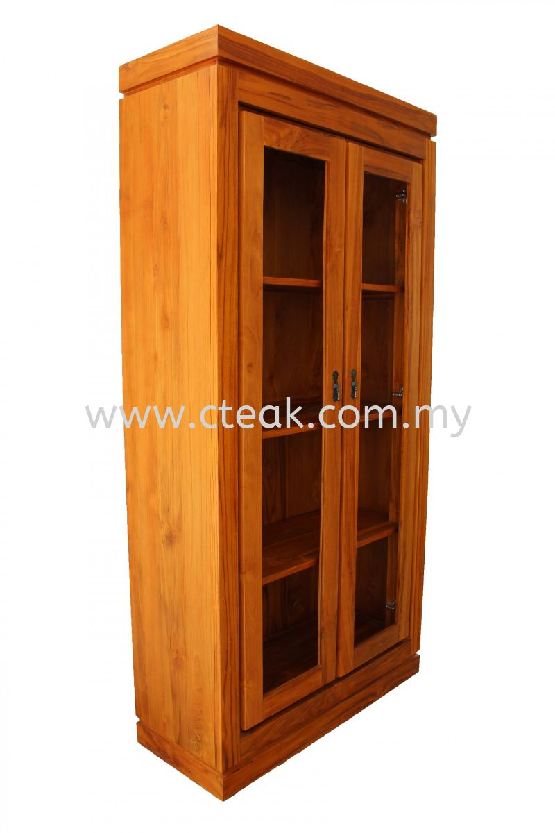2 Doors Display Cabinet (Without Glass)