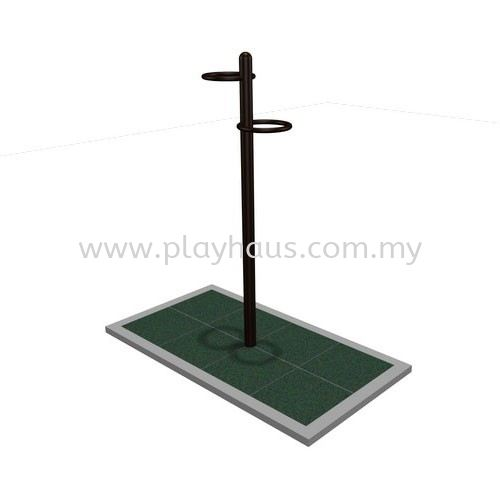 PH-Knee Lift Essential Outdoor Gym Equipments Independent Items Malaysia, Selangor, Kuala Lumpur (KL), Shah Alam Supplier, Manufacturer, Supply, Supplies | Play Haus Sdn Bhd