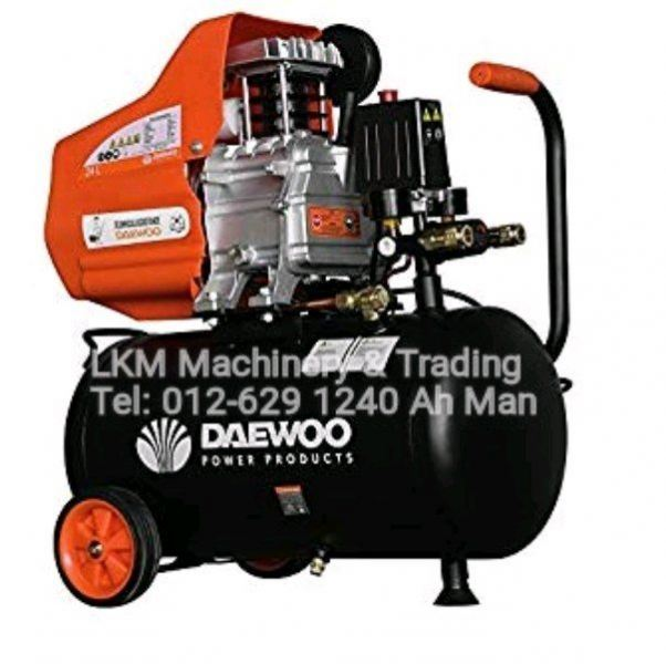 Daewoo 2HP 24L Air Compressor DAC24D Promotion 2019 Seremban, Negeri Sembilan (NS), Malaysia. Supplier, Suppliers, Supply, Supplies | LKM Machinery & Trading
