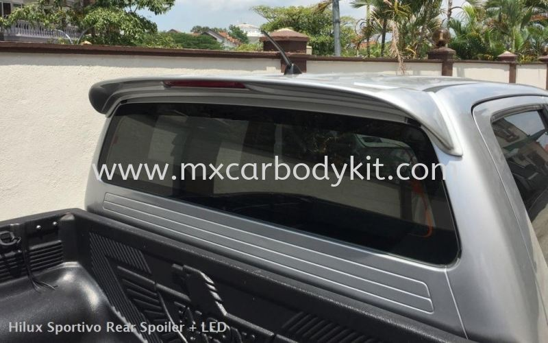 TOYOTA HILUX SPORTIVO REAR SPOILER  HILUX TOYOTA Johor, Malaysia, Johor Bahru (JB), Masai. Supplier, Suppliers, Supply, Supplies | MX Car Body Kit