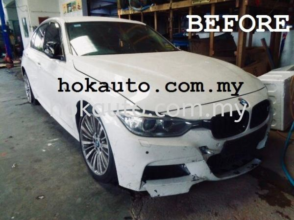 BMW F30 BMW F30 Accident Repair After Repair Photos Johor Bahru (JB), Malaysia, Tampoi Services | Hok Auto Services (JB) Sdn Bhd