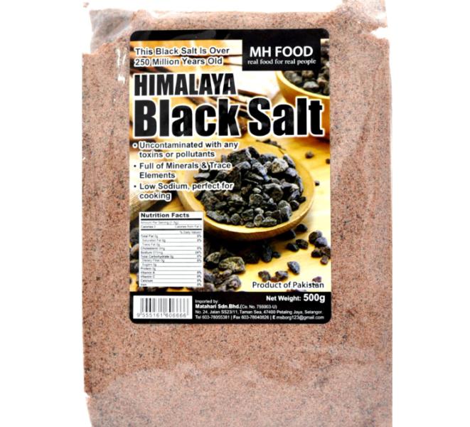 MH Food Himalaya Black Salt Salt DRESSINGS, SAUCE & SEASONING Malaysia, Selangor, Kuala Lumpur (KL), Petaling Jaya (PJ) Manufacturer, Wholesaler, Supplier, Importer | Matahari Sdn Bhd